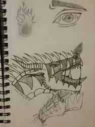 Recent Sketches 2 by Astra-Phantom5654