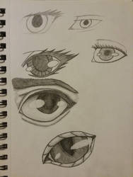 Experimental Sketches by Astra-Phantom5654