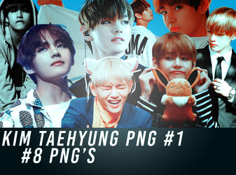 Pack Png #02 - Kim Taehyung [BTS] by TOXYE