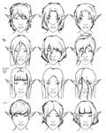 Drow Hair Styles by Hutt-Life