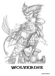 WoW Wolverine by xarthoric