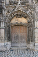 Medieval door - unrestricted by Cat-in-the-Stock