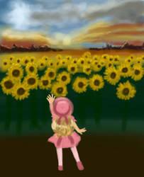 Sunflowers by SugarStarAquaria