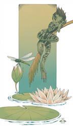 Frog Fairy by blackBanshee80