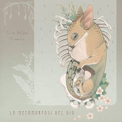 La metamorfosi del dio, cover by blackBanshee80