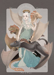 Mother of Dragons by blackBanshee80