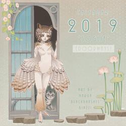 Calendar cover 2019 by blackBanshee80