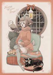 Happy Winter Days 2018 by blackBanshee80