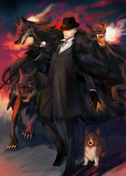 hellhound by Zoo-chan