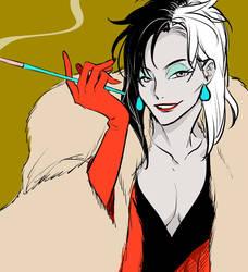 Cruella by Zoo-chan
