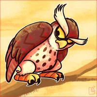 Summer of Zelda - The Owl by jazaaboo