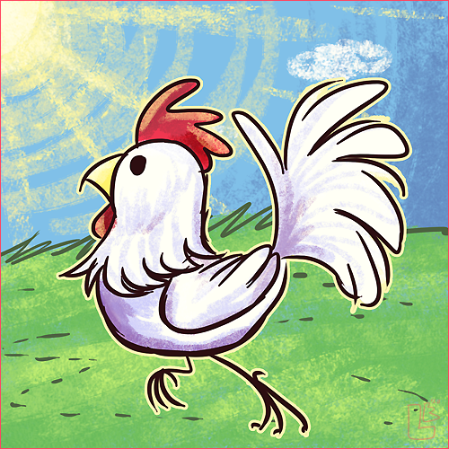 Summer of Zelda - Cucco by jazaaboo