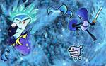 OILD: Ice Castle wallpaper by jazaaboo