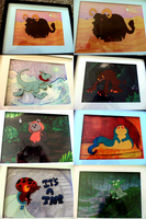 All TSG Star Wars Cels by jazaaboo