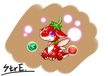 Strawberry Dragon by StringEnsemble