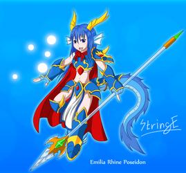 Emilia Rhine Poseidon by StringEnsemble