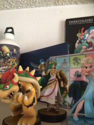 My Current Amiibo Figures + DI Figure by BurningKikoken