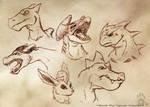 Doodling On The Job 1 -Pokemon by CanineHybrid