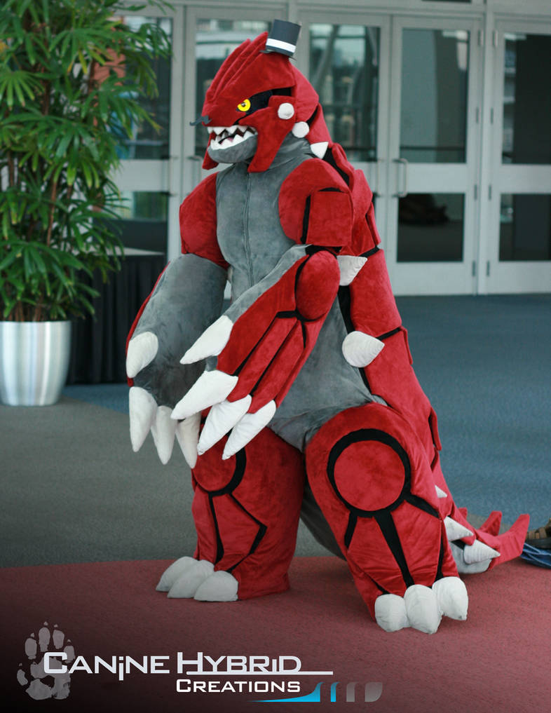 Groudon Costume by CanineHybrid