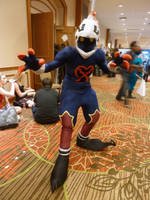 [A-kon 23] Gizmo the Heartless Soldier by CanineHybrid