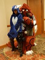 [A-kon 23] Legendary Bros by CanineHybrid
