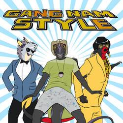GANGNAM STYLE STYLE by CanineHybrid