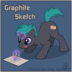 MLP- Graphite Sketch by CanineHybrid