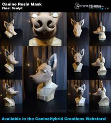 Canine Resin Mask by CanineHybrid