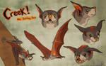 Creek the Bat by CanineHybrid