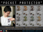 'Pocket Protector' Raptor Shirt Design by CanineHybrid