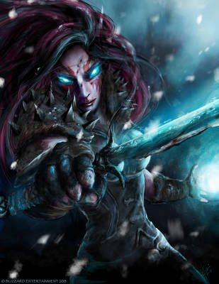 World of Warcraft Tribute : Winter's Bite by Kalkri