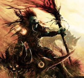 WoW : Troll Hunter, Desertpunk by Kalkri