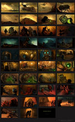 Storyboard: The Experiments by Kalkri