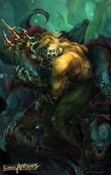 Undead Aquaman by Kalkri