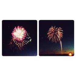 Belated Fireworks by Aidylvice