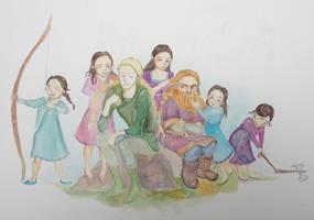 Daughters by Doodemoiidesu