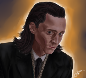 Loki of Asgard by BlueAleks