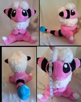 Flaaffy Pokemon Plush by LRK-Creations