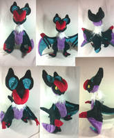 noivern plush by LRK-Creations