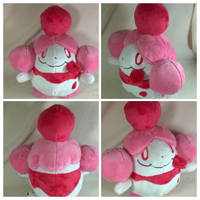 slurpuff plush by LRK-Creations