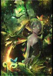 [Collab] Primary forest by Miriante