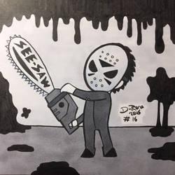 INKtober 2016 #16 by JesseDuRona