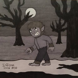 INKtober 2016 #30 by JesseDuRona
