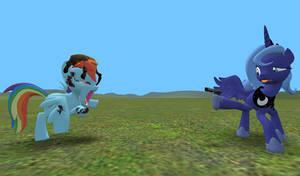 Garrys Mod: MLP Pack - Kill Dat Zombee! by Imaflashdemon