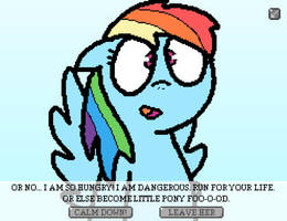 Fukd from Equestria - Rainbow Dash before... by Imaflashdemon