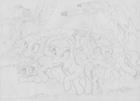 MFOEF - Warheads Ruining Ponyville by Imaflashdemon