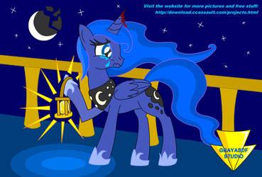 No More Princess Of The Night (Coloured) by Imaflashdemon