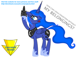 Luna's Royal Belongings by Imaflashdemon