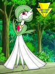 Gardevoir is giggling and blushing (coloured) by Imaflashdemon