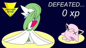 Gardevoir Is Crying Above Jigglypuff (coloured) by Imaflashdemon